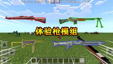 我的世界mod:体验枪械模组,哪个更厉害,测试结果想不到!