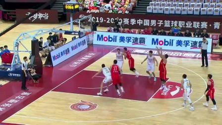 山西vs八一:邹雨宸在加时赛最后时刻打进2+1,帮助八一队取得领先!