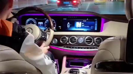 价值150万的奔驰S级,坐到后排那刻,才知道宝马和它的差距!