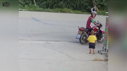 3岁幼童路边独自哭泣被陌生男子带走 接下来发生的事让人点赞