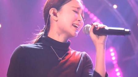 我天!美女汪小敏竟敢挑战汪峰的摇滚歌,一开口唱的太好听