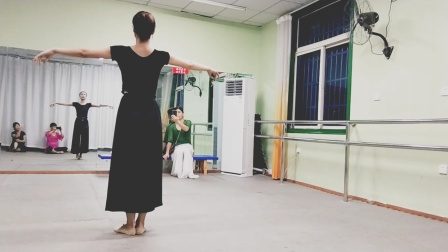 古典舞你知道不知道分解动作三,阜阳艺路舞蹈提供