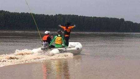 三人行黄河汛期冲浪2020季——遇25年来最大洪峰
