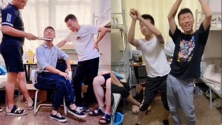 太妖娆了!男生在宿舍可以有多风骚?跳起舞来魔性洗脑啊!