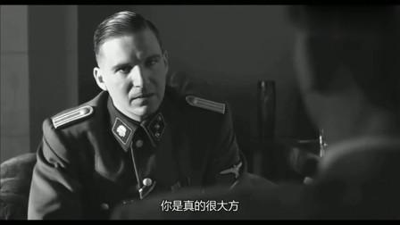 辛德勒的名单:辛德勒找到纳粹军官,我的犹太工人,你别动,霸气