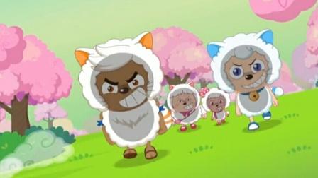 喜羊羊与灰太狼之异国大营救精彩片段(3)