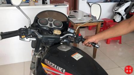 长时间停放的摩托车启动不了!千万不要乱维修,快来试试这一招