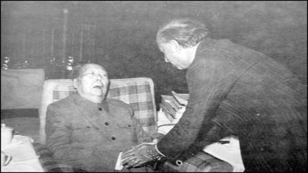毛主席最后一次接见外宾