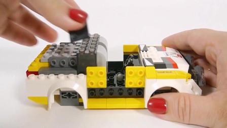 积木赛车,超酷的玩具