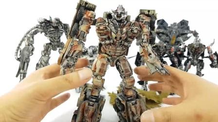 变形金刚3欺骗威震天冲击波红蜘蛛声波撬棍曲轴箱汽车机器人玩具.