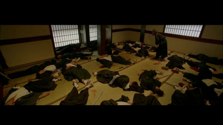 动作电影《武者》:江湖高手打败一群日本武士!