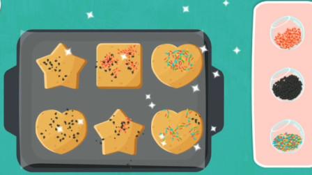 制作五颜六色的彩虹饼干?大家快来一起品尝吧~宝宝巴士游戏