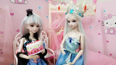 叶罗丽故事 放假三天,冰公主不知道去哪,结果白光莹邀请她去玩?