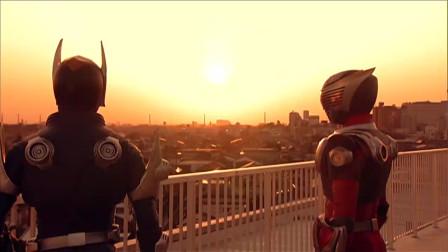 假面骑士:2大骑士共同战斗,龙骑与夜骑双重大招属实霸气
