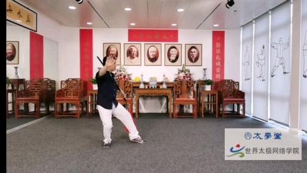 傅清泉传统杨氏太极十三刀精修班太学堂公开课(一)