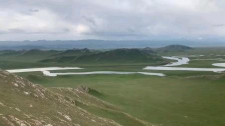 可惜没太阳~新疆巴音布鲁克草原