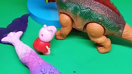 这是谁的小尾巴啊?乔治要带它去找主人,乔治真是太棒了