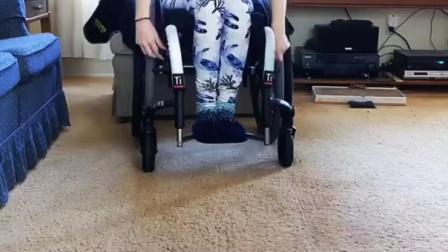 轮椅上的演示