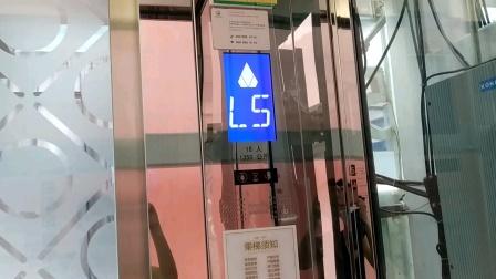 东原1891时光道观光电梯上行(L1/F-L5/F)