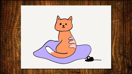 插画猫咪窦老师教画画