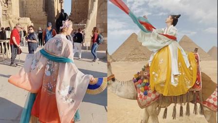 优雅的艺术品!小姐姐把汉服穿到了国外,外国人都被惊艳到了!