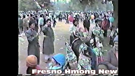 1987美国苗族新年活动现场