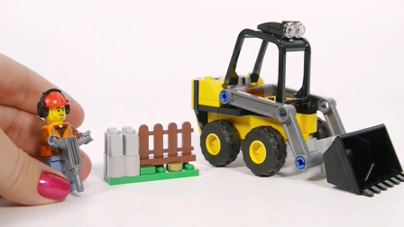 装载机模型玩具的拼装
