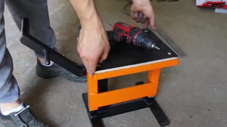 自己动手做个这样的小铁盒,修理厂老板说比千斤顶还好用