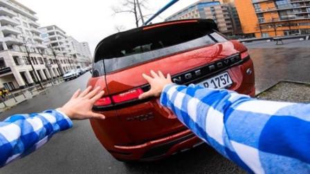 将iPhone落在别人车里怎么办?小伙开启跑酷模式,全程刺激不断!