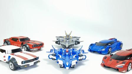 Tobot V Season 2 Leokaiser Silverhawk Captainjack Combin Maximus V 车辆机器人玩具