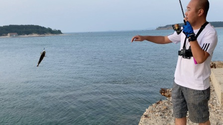根钓路亚,木川正根二代pro 海边根钓黑鱼。资源才是王道,野场的快乐又回来了。