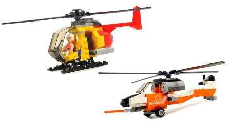 直升机模型拼装,么么哒