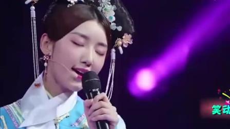 王凯毛晓彤合唱《因为爱情》,两人深情对望,配合太默契了!