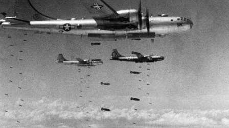百年唯一敢炸美国本土的国家,900枚炸弹从天而降,却输给情报