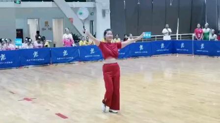 成都市第十四届运动会群众柔力球比赛 金牛区柔力球协会代表队 《我们的美好时代》杨青个人自选第二名银牌