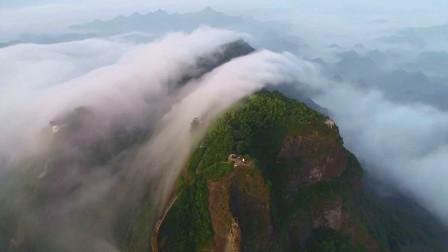 【养眼作品】云朵里的八角寨