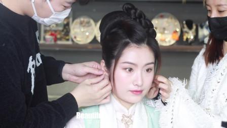 童婷美丽课堂:短发妹子汉服造型 (2)