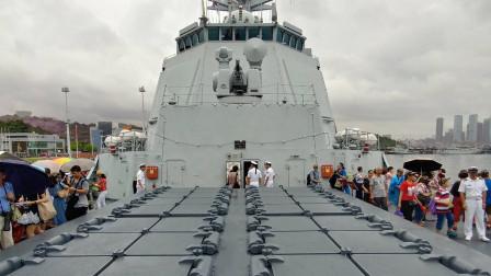 """052D甲板上的""""巧克力""""是干啥的?舰队决战全靠它,威力不容小觑"""