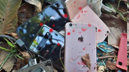 小伙在路边捡到废弃iphone,带回家修复一番,直呼赚大发了!