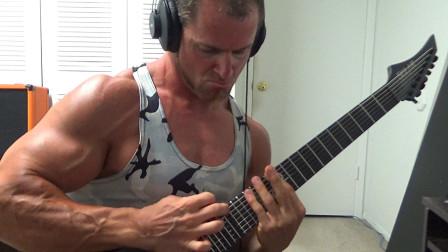 肌肉男+金属吉他手Kevin Frasard