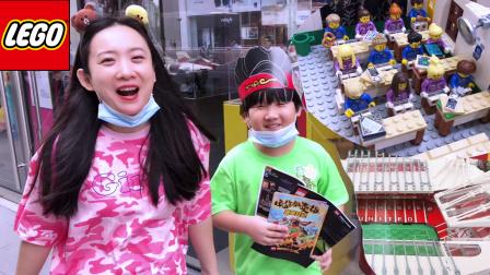 乐高旗舰店玩具逛店悟空小侠蝙蝠侠消防车