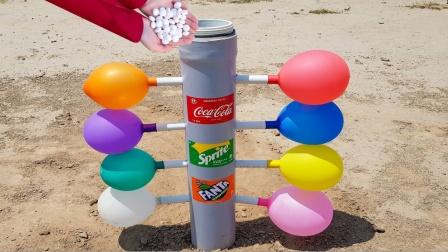 趣味实验:碳酸饮料与曼妥思还可以这样玩?真是涨见识了!