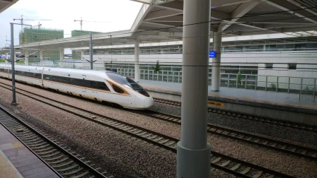 【铁路】上行复兴号BF快速通过杭州南