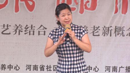 常香玉大师再传弟子杨春艳豫剧《花木兰》将姐姐和弟弟的手儿拉紧