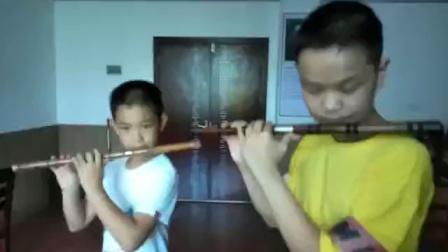 塔塔尔舞曲-竹笛练习,很棒的!