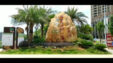 荔江国家湿地公园景拍合并视频