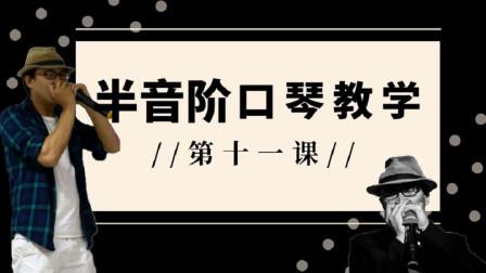 【2020半音阶口琴教学】 第十一课 半音阶口琴推键装饰音