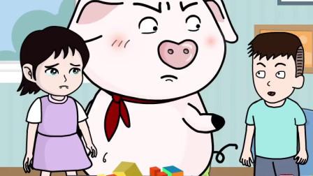 熊孩子欺负小女孩,屁登霸气站出来教育他