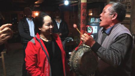 走进贵州民族村庄,看民间老艺人如何敬酒,让你不得不喝!