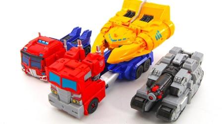 变形金刚网络世界力量 威震天汽车机器人玩具.